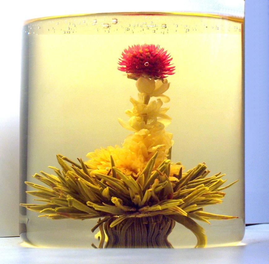 Tea Art - Kvetoucí čínský čaj - 'Milovník květin' 2 ks