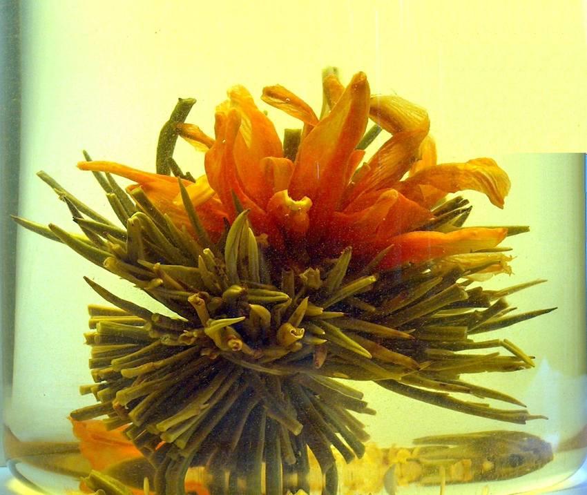 Tea Art - Kvetoucí čínský čaj - 'Letící červený osmanthus' 2 ks