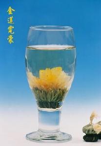 Tea Art - Kvetoucí bílý čínský čaj - 'Rajské barvy'