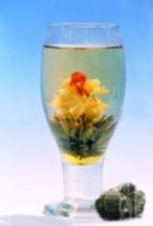 Tea Art - Kvetoucí bílý čínský čaj - 'Slunečnice'