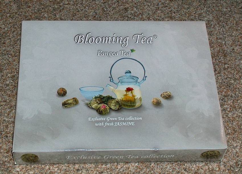 Kolekce kvetoucích čajů - 'Blooming Tea collection'