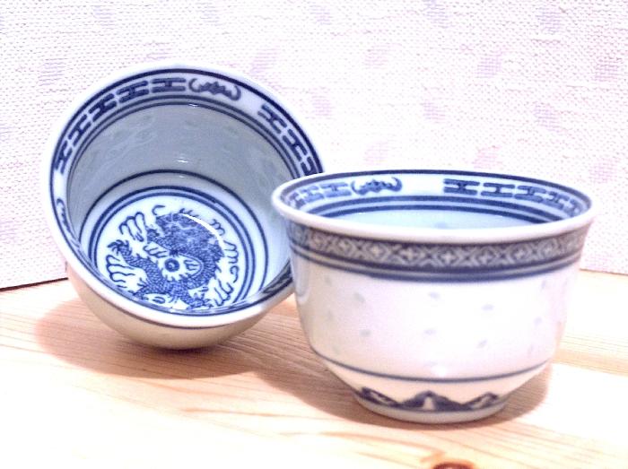 Šálek Jiangxi - rýžový. 8 cm